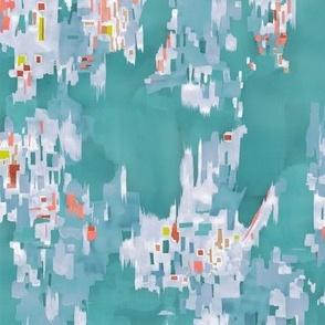 Dealtry + Wiksten Print in Turquoise