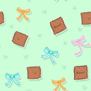 Biscuits and Bows Green Style
