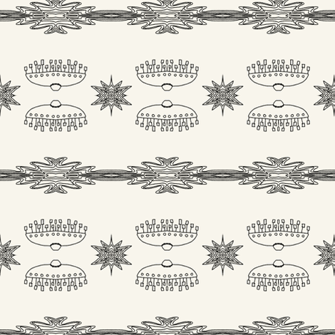 Oz aliens (NP) fabric by su_g on Spoonflower - custom fabric