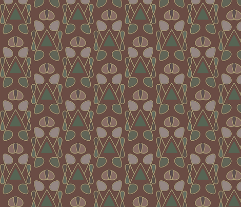 Serenity (Earth) fabric by david_kent_collections on Spoonflower - custom fabric