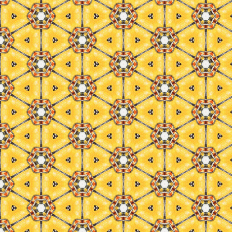 Amber Wheels fabric by siya on Spoonflower - custom fabric