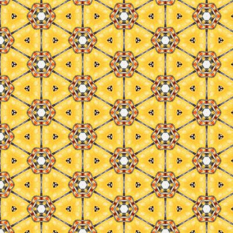 Amber Wheels fabric by siya on Spoonflower - custom fabric