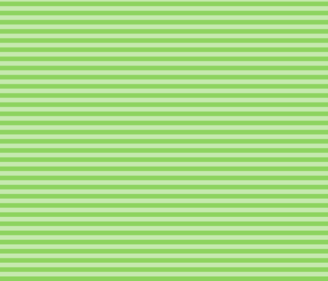Stripe- Green on green fabric by mayabella on Spoonflower - custom fabric