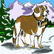 Rrrrsaint_bernard_in_the_mountains_shop_thumb