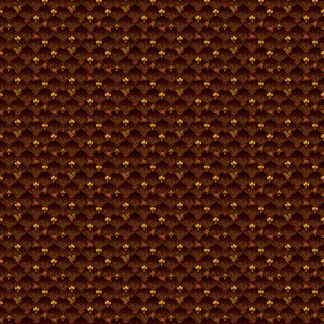©2011 MIcro20 woodnymphweddingfeast fall fabric by glimmericks on Spoonflower - custom fabric