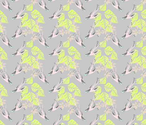 Hummers fabric by joanmclemore on Spoonflower - custom fabric