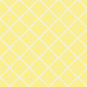 Lattice blue and yellow collection-ch