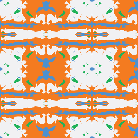 Majorcan Orange Blossoms in April fabric by susaninparis on Spoonflower - custom fabric