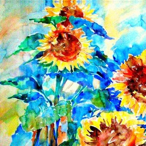 Marias Sunflowers