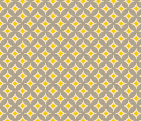 diamond_circles fabric by holli_zollinger on Spoonflower - custom fabric