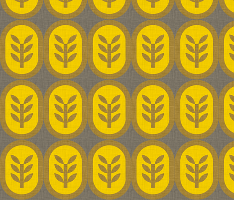 wheat_linen fabric by holli_zollinger on Spoonflower - custom fabric