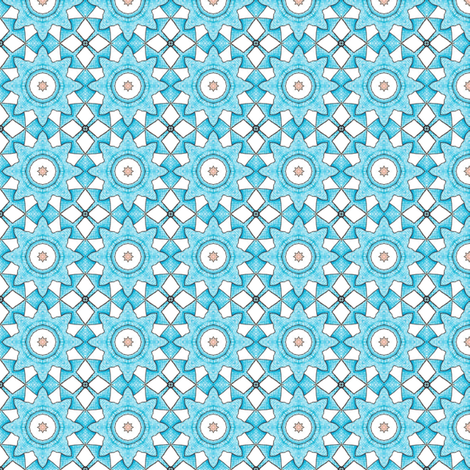 Ridorius's Flowers fabric by siya on Spoonflower - custom fabric