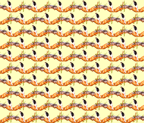 Hawkeye. fabric by robin_rice on Spoonflower - custom fabric
