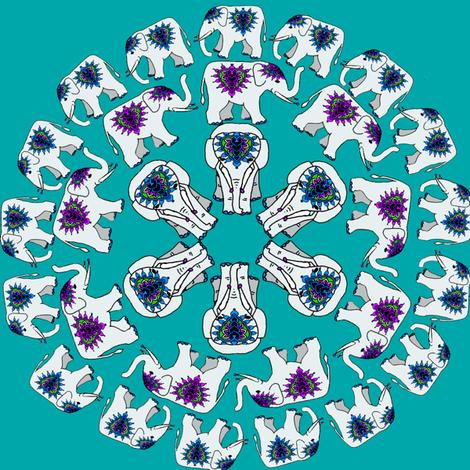 elephant_circles fabric by topfrog56 on Spoonflower - custom fabric