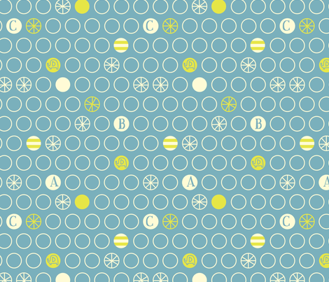 e is for elephant dots fabric by amel24 on Spoonflower - custom fabric