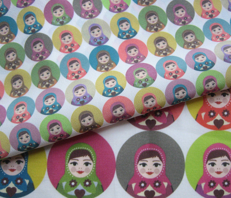 candy matryoshka polka (small scale)