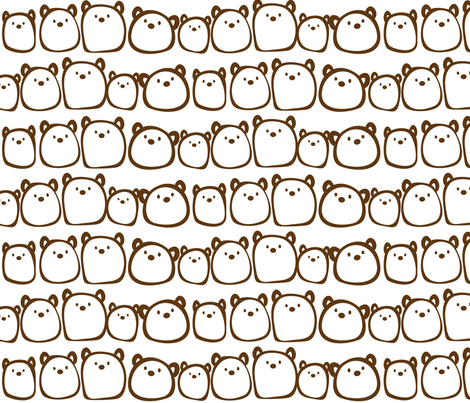 The Gum Bears fabric by cutekotori on Spoonflower - custom fabric