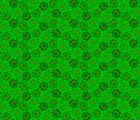 decapod 3-colour (ve) fabric by sef on Spoonflower - custom fabric