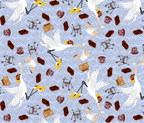©2011 Geriatric Father-2.5X fabric by glimmericks on Spoonflower - custom fabric