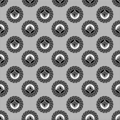 admiral__medallions_and_background fabric by joanmclemore on Spoonflower - custom fabric