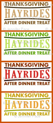 Thanksgiving Hayrides