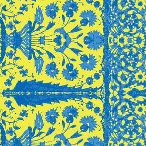 bosporus_tiles blueyellow-Twill