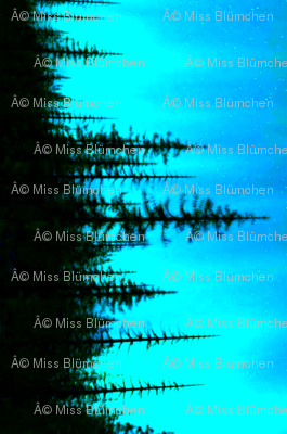 Silk Forest Blue