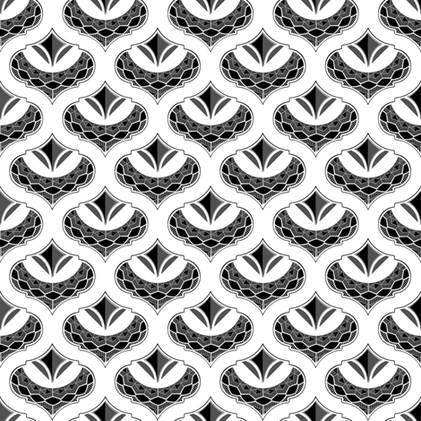 Admiral Black fabric by joanmclemore on Spoonflower - custom fabric