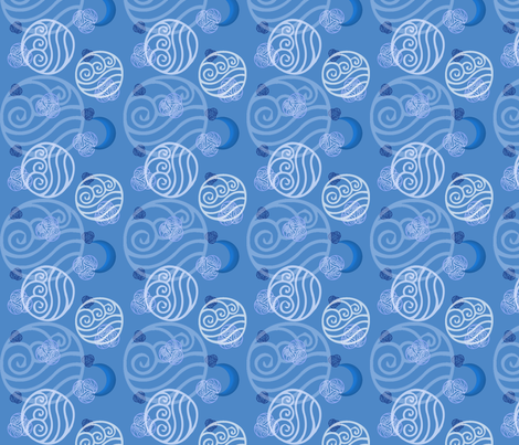Avatar: Water Tribe fabric by kellyw on Spoonflower - custom fabric