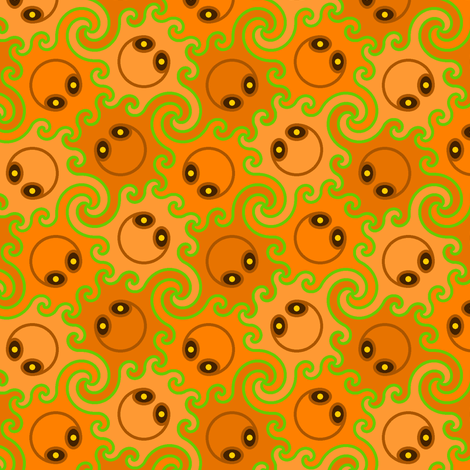 decapod 3-colour (co) fabric by sef on Spoonflower - custom fabric