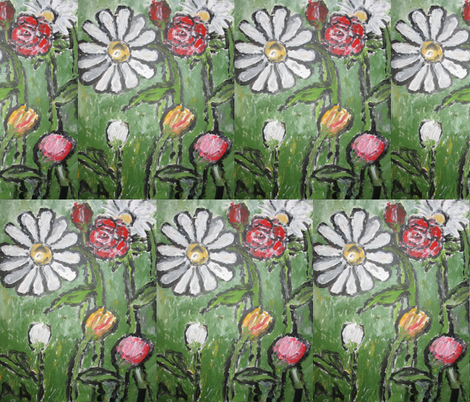 Flowers_in_Bloom fabric by anne_k_abbott on Spoonflower - custom fabric