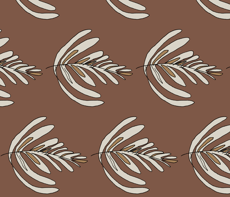 Espresso fabric by wiccked on Spoonflower - custom fabric