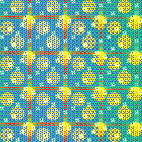 ©2011 quatrefoil fabric by glimmericks on Spoonflower - custom fabric