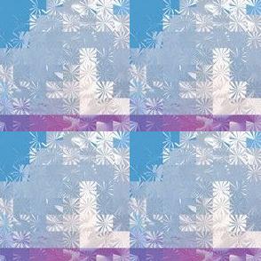 Cloud Snowflake Squares, S
