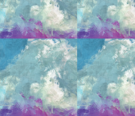 Grunge Clouds, L fabric by animotaxis on Spoonflower - custom fabric