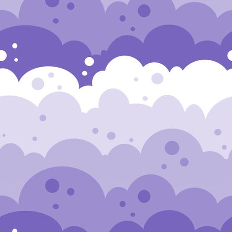 Cloudy Spots - Sunshine Days - © PinkSodaPop 4ComputerHeaven.com fabric by pinksodapop on Spoonflower - custom fabric