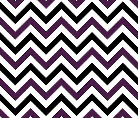 Dirigible (Purple) Chevron fabric by pond_ripple on Spoonflower - custom fabric