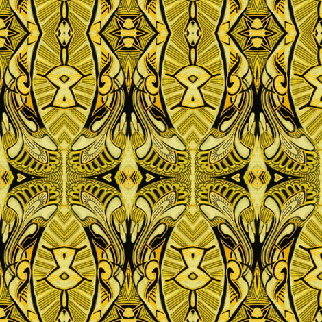 Hawaiian Sunshine fabric by edsel2084 on Spoonflower - custom fabric