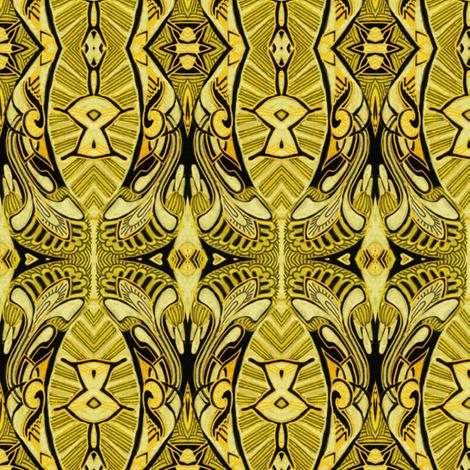 Hawaiian Sunshine fabric by edsel2084 on Spoonflower - custom fabric