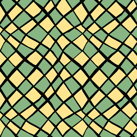 DirigibleCheck fabric by pond_ripple on Spoonflower - custom fabric