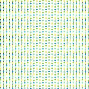 Bead Curtain - Green