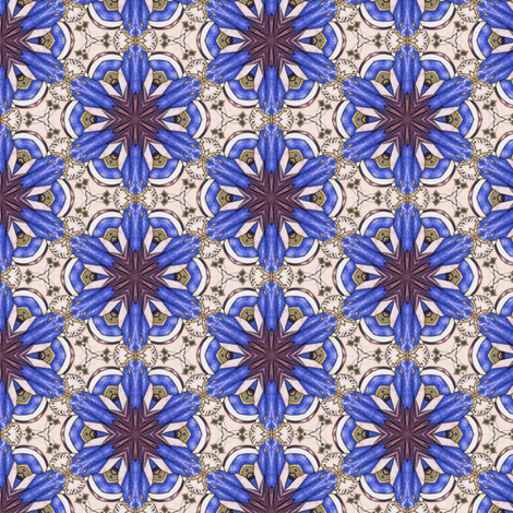 Bandar's Flowers fabric by siya on Spoonflower - custom fabric
