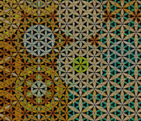 70's Sacred G fabric by highonsunshinevibes on Spoonflower - custom fabric