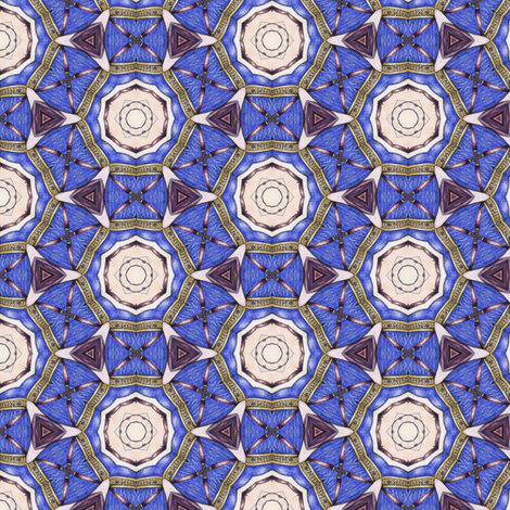 Bandar's Dream Net fabric by siya on Spoonflower - custom fabric