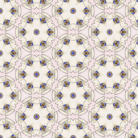 Bandar's Gauzeflower fabric by siya on Spoonflower - custom fabric