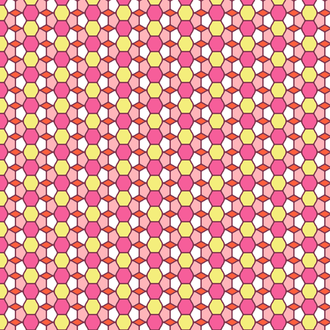 Pink Glass fabric by inscribed_here on Spoonflower - custom fabric