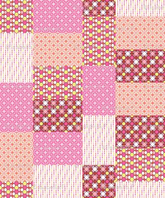 Pink Glass Quilt
