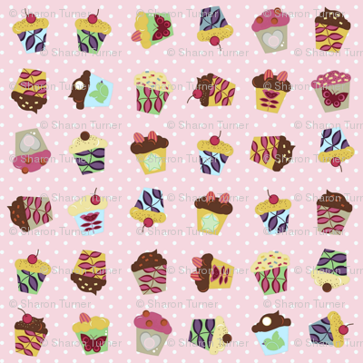 pink aime cupcakes