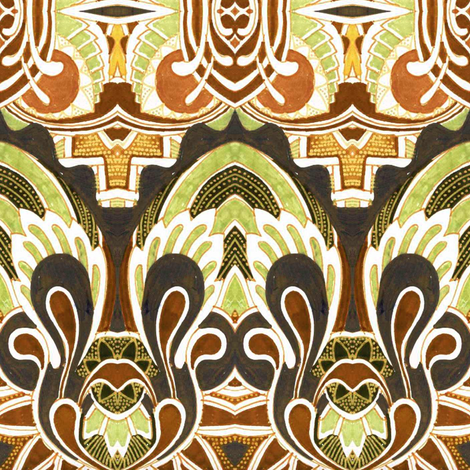Autumn for the Angels fabric by edsel2084 on Spoonflower - custom fabric
