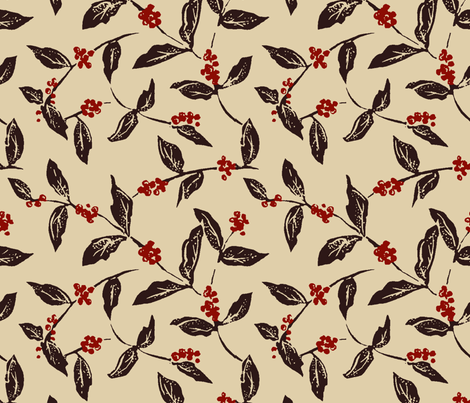 Cafeeiro fabric by shirayukin on Spoonflower - custom fabric